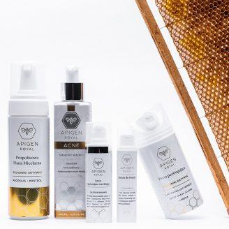 zestaw-królowej - kosmetyki przeciwzmarszczkowe apigenroyal z jadem pszczszelim - zestaw kosmetyków